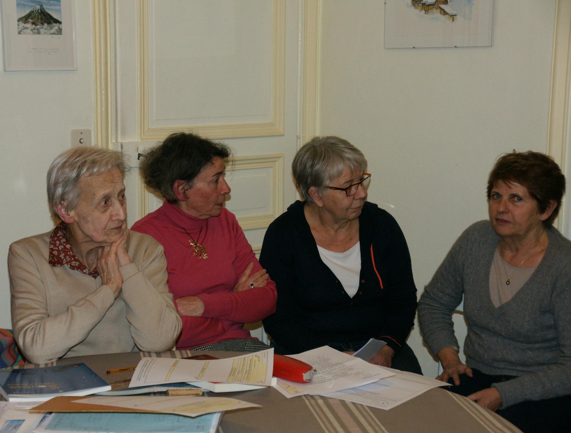 Roselyne, Marie-Christine, Françoise, Nicole