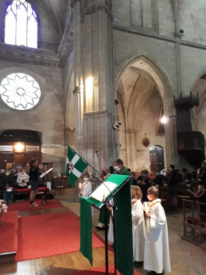 60 ans des SUF de La Ferté Bernard - messe
